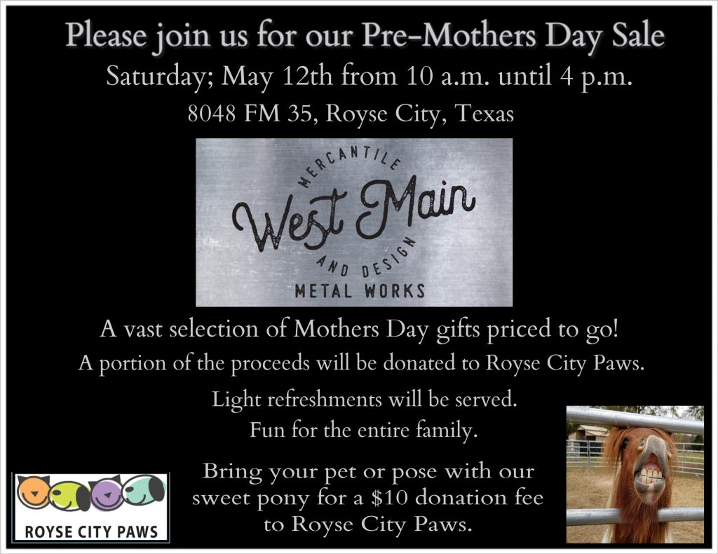 pre-mothers day sale
